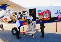 「飛行機は必要」だけど・・・粟国村民に不安残る 第一航空、初日2往復12人のみ