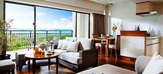 55平方メートルの広々とした造りの「スーペリアタイプの客室(前田産業ホテルズ提供)