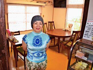 6年前に店をオープンした垣花和美さん