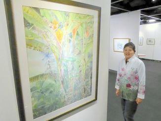 小林美子さん水彩画展(タイムスギャラリー)