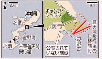 沖縄県名護市辺野古・公表されていない施設