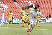 サッカー日本代表、マリと1―1 仮想セネガルに苦戦