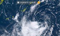 台風14号 11日は大東島地方、沖縄本島地方に最接近 荒れた天気に