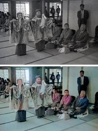 「奇跡の人」も「裸の大将」も… 戦後沖縄に来た著名人、歴史的写真をAIでカラー化