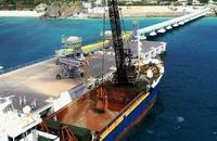 14日に土砂投入 新基地建設へ、民間桟橋から搬出作業 沖縄県は停止要求