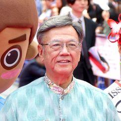 沖縄県の翁長知事(資料写真)