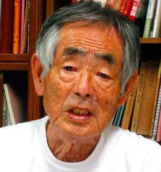 県うちなぁぐち会の桑江常光会長