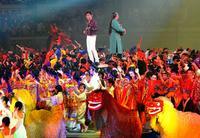 沖縄芸能700人が演舞 琉舞など2公演「杜の賑い」きょう21日まで