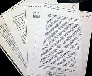 クリントン政権時に検討された米軍北部訓練場の一部を国立公園化する構想を記した米機密文書