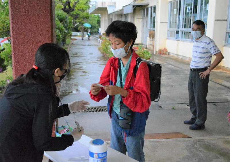 沖縄本島初、東村できょうから小中学校再開 検温やマスク着用徹底 ...