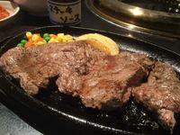 那覇市の焼肉マンでランチステーキ(カレー食べ放題)を食べたの巻 運転手メシ(236)