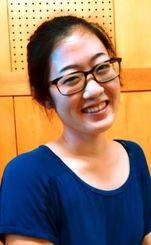 北米沖縄県人会選出の県費留学生として県立芸術大学で学んでいる小野エイミーさん