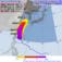 30日3時から5日3時までに、台風18号の暴風域に入る確率(気象庁HPより)