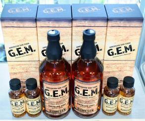 最優秀賞に選ばれた久米仙酒造の「G.E.M.(ジェム)」