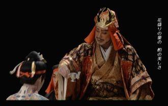 「シネマ組踊 二童敵討」の一場面