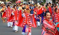 杜の都・仙台で琉装の舞 全国高文祭が開幕