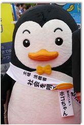 更生ペンギンのホゴちゃん