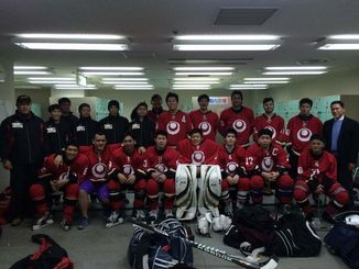 国体冬季大会への出場権を獲得した沖縄成年男子(提供)