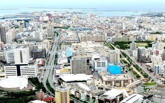 沖縄県内の住宅地(資料写真)