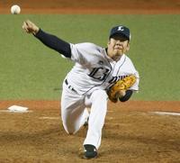 西7―4日(18日) 多和田が15勝目