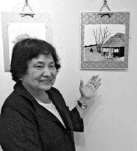 [きょうナニある?]/話題/人物や風景 押し絵で彩る/東京 岡崎さん個展
