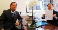 知事訪米:米事務所・平安山英雄参事監に聞く
