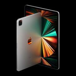 アップルが発売するアイパッドプロの新製品(同社提供・共同)