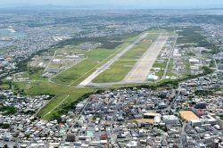 日米の返還合意から20年を迎えた米軍普天間飛行場=宜野湾市