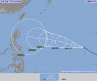 台風26号(イートゥー)瞬間85メートル、猛烈な勢力に発達