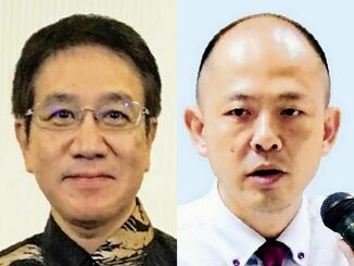 (左から)徳田安春氏と椎木創一氏