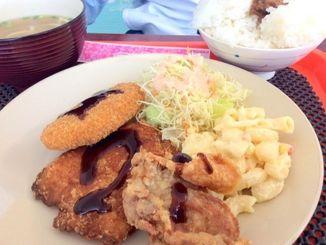 「日替わりランチ」スープとごはんが付いて500円