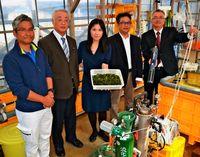 海ブドウ生産 IoTを活用/CO2で成長 遠隔把握/OCC・琉大工学部・日本バイオテック連携
