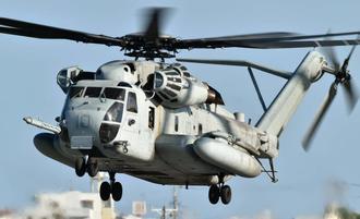 墜落したCH53ヘリの同型機