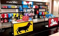 犬のイラストが目印 DFSに「マーク テトロ」の期間限定店