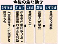 沖縄県議選 今後の日程への影響は?