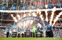 サッカー、マンCが初の国内3冠 FAカップ8季ぶりV