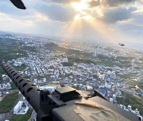 米軍第一海兵航空団の公式ツイッターで投稿された写真画像