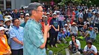 翁長沖縄知事が就任2年 3つのキーワードで読み解く基地問題