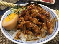 楊の店でルーローファンや餃子定食を食べたの巻 運転手メシ(246)