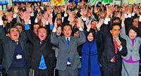 宜野湾市長選、何が勝敗を分けたのか 記者たちが見た舞台裏