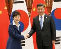 習氏、米迎撃ミサイル反対 韓国配備「地域対立激化」