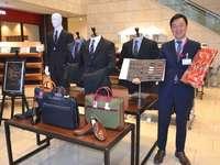 オーダースーツを特別価格で 那覇・タイムスビルでイオン琉球が販売会