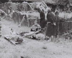 <沖縄戦>集落に集められた住民