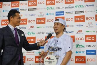 MVPインタビューの涙の本当の意味は(photo by Junya Nashiro)