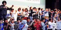 福島の子ども癒やす歌声/久米島の「球美の里」交流100回/古謝さん記念公演