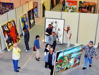 芸術の春、すぐそこに 「第70回沖展」、あす浦添市で開幕