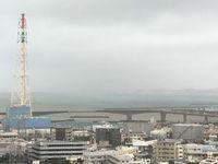 台風7号:沖縄市と西原町に土砂災害警戒情報