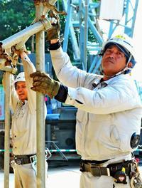 工事現場に氷常備、ファン付き作業服 熱中症予防へ建設会社が本腰