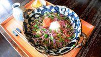 宮古島産ソバの実を使った手打ちそば 豊かな香り表現 宮古島市平良下里「かま田」