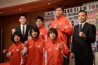 七戸「リオ五輪につなげたい」 きょうから柔道GS東京